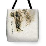 Shroud Of A Lady Tote Bag