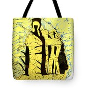 Shroud Of Jesus Tote Bag