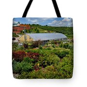 Shrubbery At A Greenhouse Tote Bag