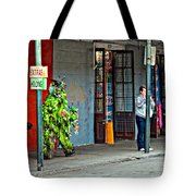 Shrubman On The Move Tote Bag