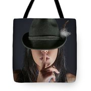 Shush  Tote Bag