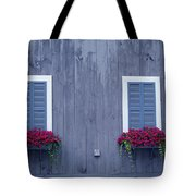 Shuttered Twins Tote Bag