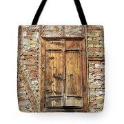 Shuttered Window Tote Bag