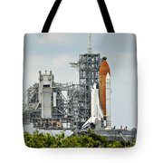 Shuttle Endeavour Is Prepared For Launch Tote Bag