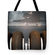 Shuttle Tires Tote Bag
