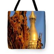 Shwe Dagon Pagoda Tote Bag