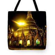 Shwedagon Paya - Yangoon Tote Bag