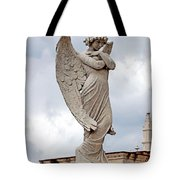 Shy Angel Tote Bag