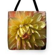 Shy Dahlia Beauty Tote Bag