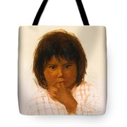 Shy One Tote Bag