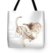 Siamese Like Cats Tote Bag