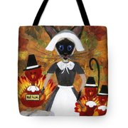 Siamese Queen Of Thanksgiving Tote Bag
