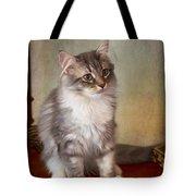 Siberian Forest Kitten II Tote Bag