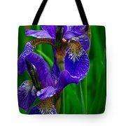 Siberian Iris Tote Bag