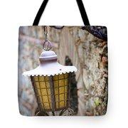 Sicilian Village Lamp Tote Bag by David Smith
