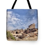 Side Ancient Archaeological Remains Tote Bag