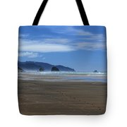 Side By Side Along The Beach Tote Bag