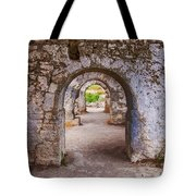 Side Byzantine Hospital 04 Tote Bag