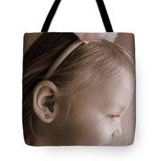 Side Glow Tote Bag
