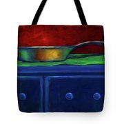 Side Iron Tote Bag