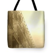 Side View Modern Glass Building In Baltimore Tote Bag