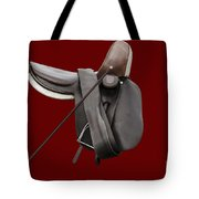 Sidesaddle And Crop Tote Bag by Linsey Williams
