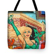 Carnival Girl Palm Springs Tote Bag