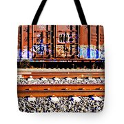 Sidetracked Tote Bag