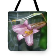 Sideview Of Beauty Tote Bag