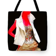 Sidewalk Catwalk 4 Tote Bag