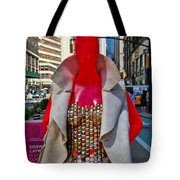 Sidewalk Catwalk 8 Tote Bag
