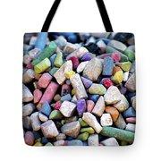 Sidewalk Chalks Tote Bag