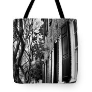 Sidewalk Scene-charleston Tote Bag