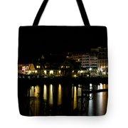 Sidney Bc At Night Tote Bag