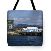 Sidney Harbour On Vancouver Island Tote Bag