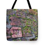 Sidney Island Brick  Tote Bag