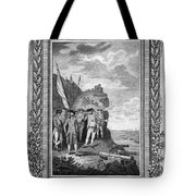 Siege Of Gibraltar, 1782 Tote Bag
