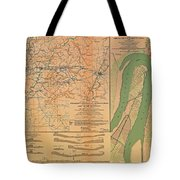 Siege Of Vicksburg 1863 Tote Bag