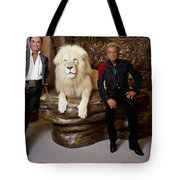 Siegfried And Roy Tote Bag