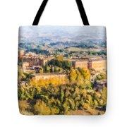 Siena Countryside Tote Bag