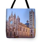 Siena Duomo At Sunset Tote Bag