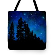 Sierra Foothills Wall Mural Tote Bag