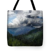 Sierra Nevada Lighting Strike Tote Bag