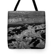 Sierra Nevada Shadows Tote Bag