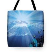 Sierra Radiance Tote Bag