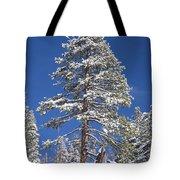 Sierra Snow Tote Bag