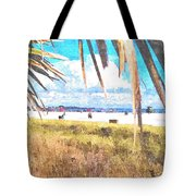 Siesta Key In Fall Tote Bag