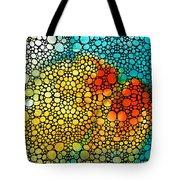 Siesta Sunrise - Stone Rock'd Art Painting Tote Bag