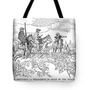Sieur De La Verendrye (1685-1749) Tote Bag