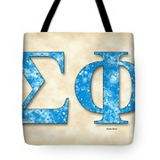 Sigma Phi Society - Parchment Tote Bag